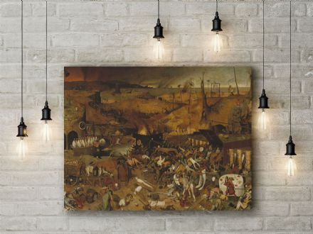 Pieter Bruegel: The Triumph of Death. Fine Art Canvas.